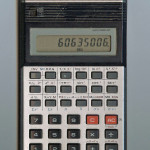 Casio COLLEGE FX-100 Pocket Calculator