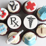 Doctor Themed Cupcakes